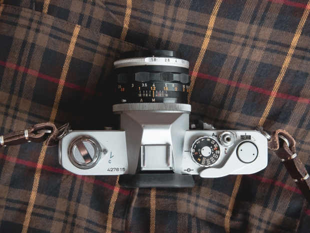 Canon FT QL top view